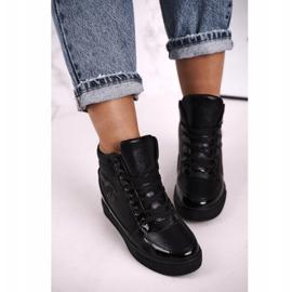 Haver Damen Sneakers Stiefeletten Black Carol schwarz 3