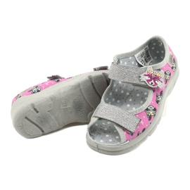 Befado Kinderschuhe 969X162 pink silber 4