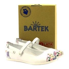 Ballerinas Mädchen Blumen Bartek weiß 4