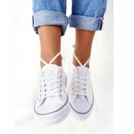 FB2 Weiße Candice Lace Sneakers für Damen 5