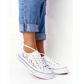 FB2 Weiße Candice Lace Sneakers für Damen 6