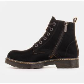 Marco Shoes Hohe Stiefeletten, Stiefel auf einer durchscheinenden Sohle gebunden schwarz 2