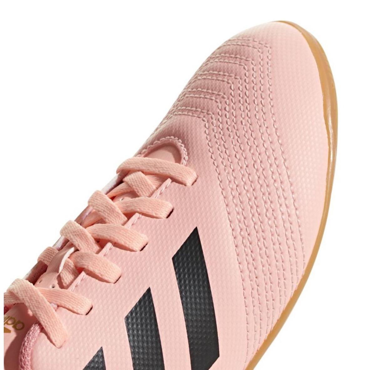 Details zu Adidas Predator Tango 18.4 In Jr. DB2337 Indoor Schuhen pink pink