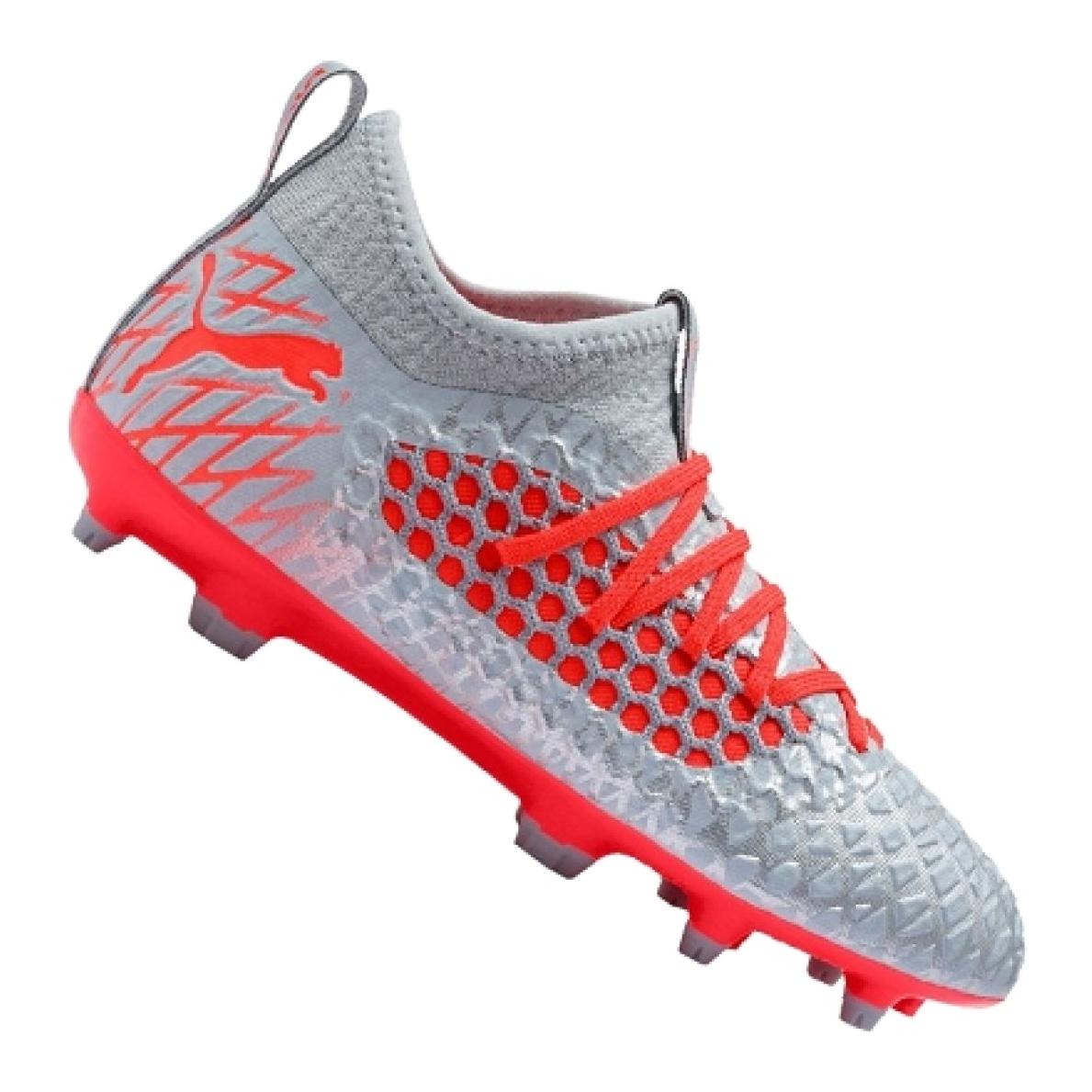 Details Zu Fussballschuhe Puma Future 4 3 Netfit Fg Ag Jr 105693 01