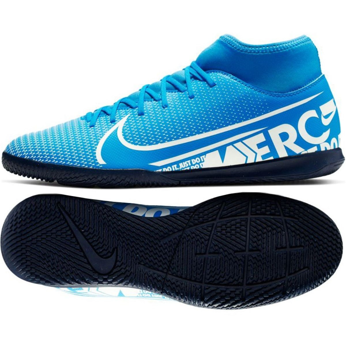 Details about Halls Shoes Nike Mercurial Superfly 7 Club IC M AT7979 414 Blue Blue show original title