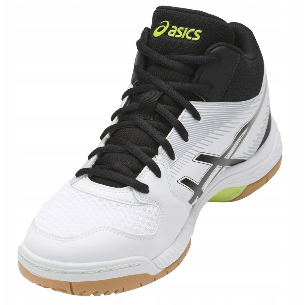 Details zu Asics Gel Task Mt M B703Y 0190 Schuhe weiß weiß, schwarz