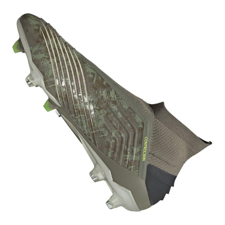 Details zu Adidas Predator 19+ Fg M EF8204 Fußballschuhe grau grau silber